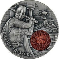 2000 Francs Templar's Treasure