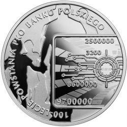 10 zł PKO Bank Polski 100th...