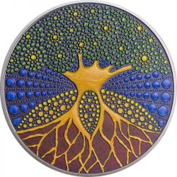20$ Tree of Life - Dot Art