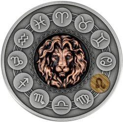 1$ Lew - Znaki Zodiaku