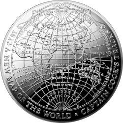 5$ Nowa Mapa Świata 1812 -...