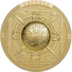 20$ Dendera Zodiac, Gilded...