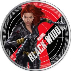 1$ Black Widow - Marvel