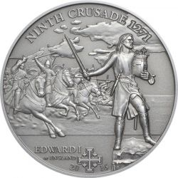 5$ Edward I of England - History of the Crusades 9.