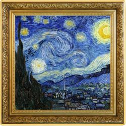1$ Starry Night, Vincent...