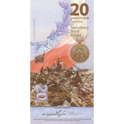 20 zł Bitwa Warszawska 1920