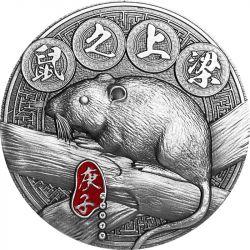5000 Francs Rat on the Beam