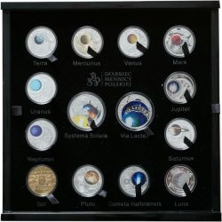 Solar System, Set of 14 coins