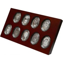 Faberge Eggs Coin set 2012