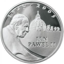 10 zł Jan Paweł II 1920 - 2005