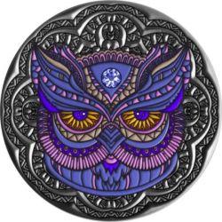 5$ Owl - Mandala