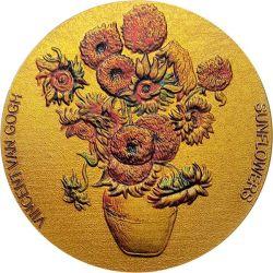 10 Cedi Słoneczniki Van Gogha