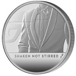 2£ James Bond, Shaken Not...