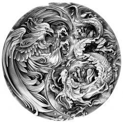 Chinese Dragon & Phoenix -...