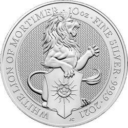 10£ Biały Lew Mortimerów -...
