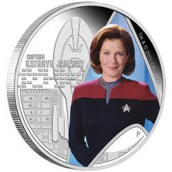 1$ Voyager, Captain Kathryn Janeway - Star Trek