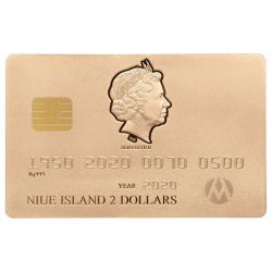 2$ Credit Card Gilded