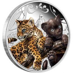 50¢ Jaguar - Cubs, Młode Zwierzęta