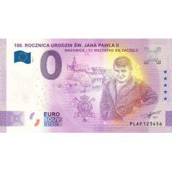 0 Euro Jan Paweł II, 100....