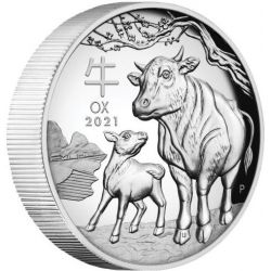 1$ Year of the Ox High Relief