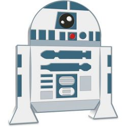2$ R2D2 - Star Wars, Chibi