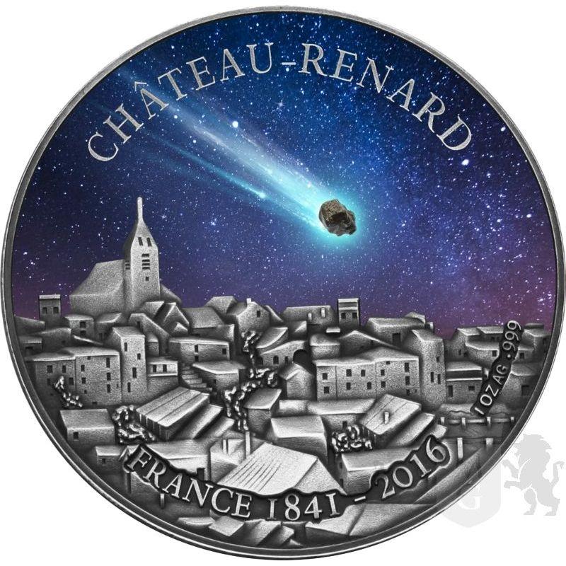 1000 Francs Chateau Renard Meteorite