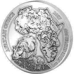 50 Francs Hipopotam