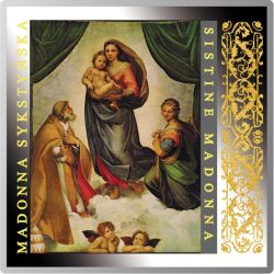 1$ Madonna Sykstyńska, Santi - Arcydzieła Renesansu