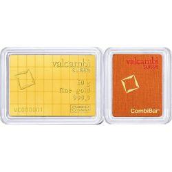 CombiBar 50 x 1g Valcambi