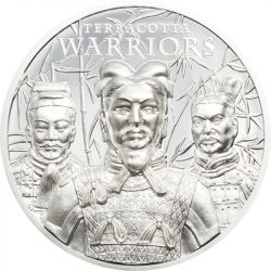 5$ Terracotta Warriors 1 oz