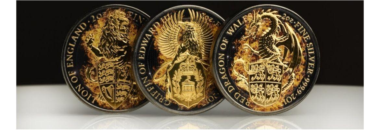 Płonące Bestie Królowej - seria monet