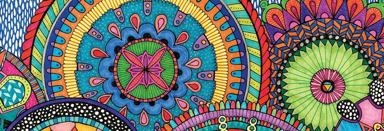 Mandala Art - seria monet