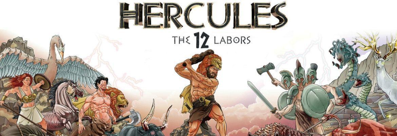Dwanaście Prac Herkulesa - seria monet