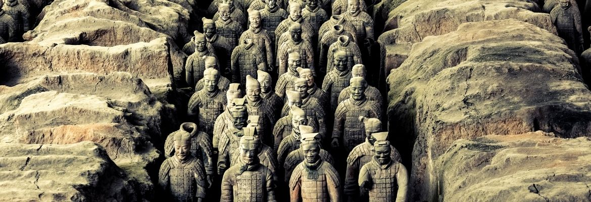 Ancient Chinese Warriors - series of coins