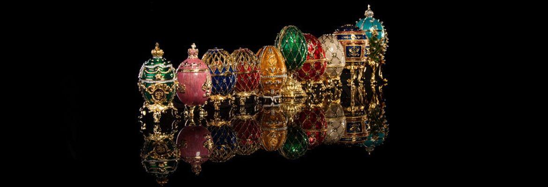 Jajko Faberge - seria monet