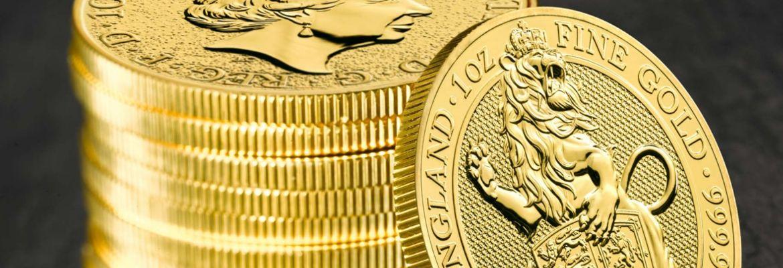Bestie Królowej - seria monet