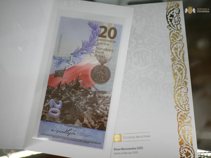 20zł Bitwa Warszawska 1920 banknot