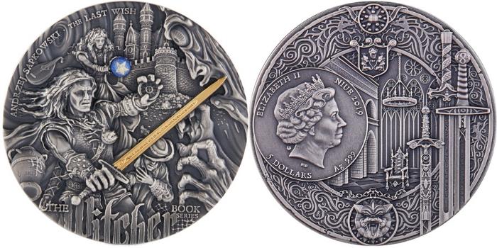 Zmiana wartości monety z Wiedźminem