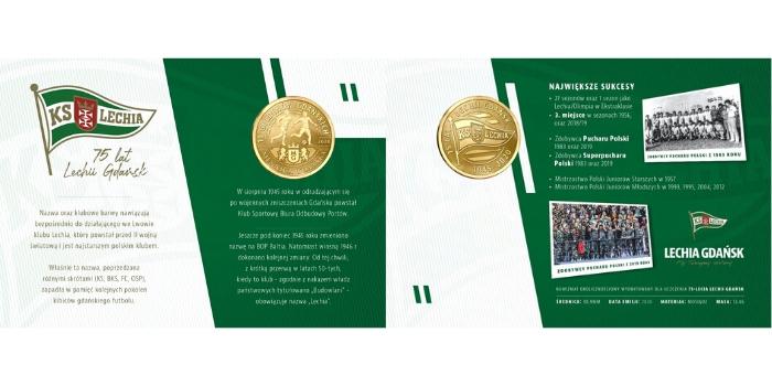 Lechia Gdańsk moneta