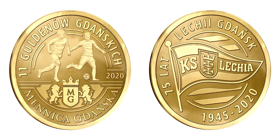 Lechia Gdańsk monety