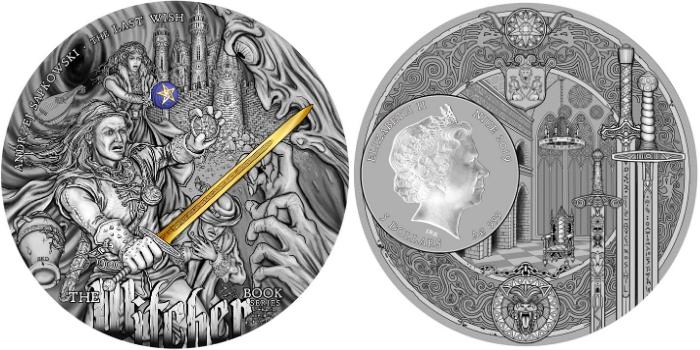 Moneta z Wiedźminem