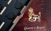 Wooden Boxes for Queen's Beasts series