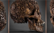 Carved Skulls And Bones