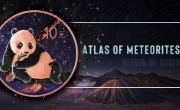 Atlas of Meteorites - series of coins