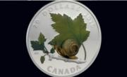 1 oz Fine Silver Coin – Venetian Glass Snail