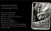 100 zł Ignacy Jan Paderewski 100th Anniv. Independence