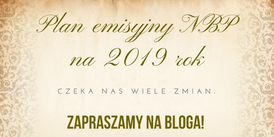 Plan Emisyjny NBP na 2019 rok