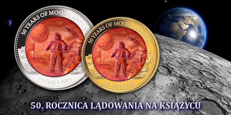 Lądowanie na księżycu 50 rocznica