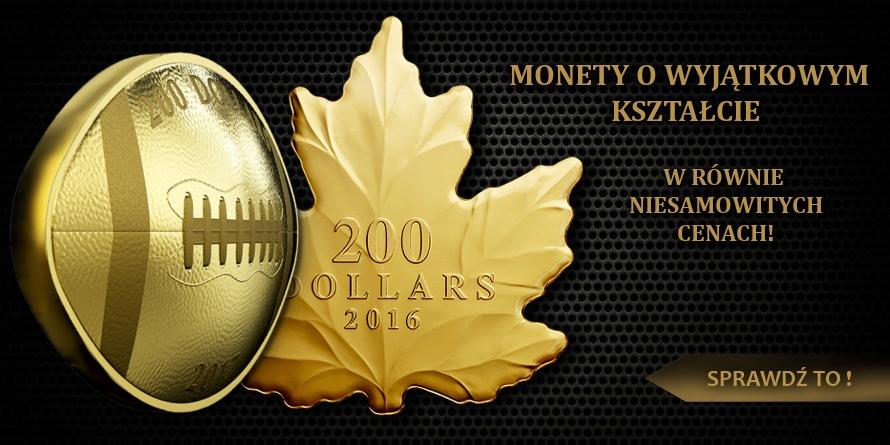 Nietypowe kształty monet