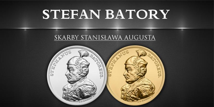 50 zł Stefan Batory - Skarby Stanisława Augusta